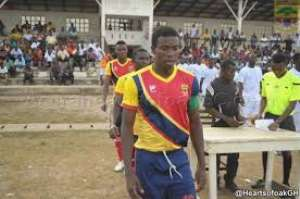 Hearts midfielder Thomas Abbey calls for calm ahead of Bolga All Stars clash