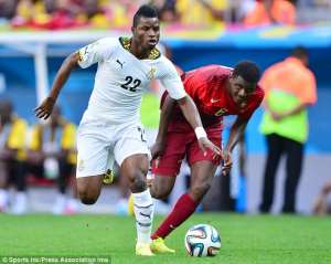 Former AshGold midfielder Mubarak Wakaso laments clubs forms