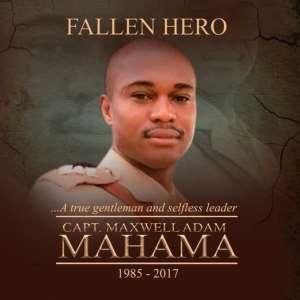 Live coverage of Major Maxwell Adam Mahama's funeral