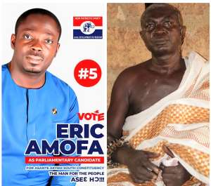 NPP Primaries: Amanfrom Chief, Elders Invoke Blessings On Eric Amofa For Victory