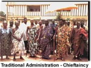 Pandemonium rocks Western Region House of Chiefs