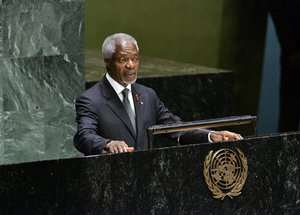 On AIDS, Annan tells world leaders: Do more
