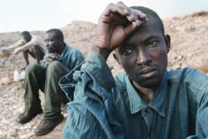 After votes, unemployed African still lives without future - photo credit: Ansa