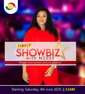 Simply Showbiz Premieres On TV3 On Saturday July 4