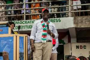 NDC Primaries: Kofi Buah Pick Forms, Vows To Retain Seat