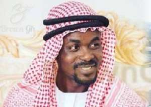 Nana Appiah Mensah, the CEO for the defunct Menzgold financial institution, photo credit: Ghana media