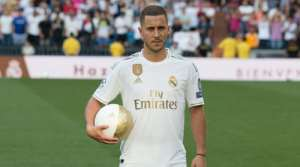 Eden Hazard Picks 'Number 23' Shirt At Real Madrid