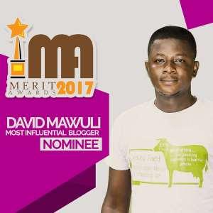 Celebrity Blogger David Mawuli, Medikal, Ebony, Dadie Opanka, Yaa Pono, Headline Merit Awards 2017