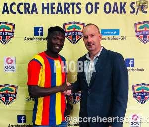 OFFICIAL: Karela Utd Gives Dominic Eshun Greenlight To join Hearts