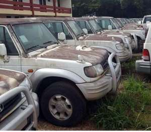 Vehicles Wasting Away In State Institutions