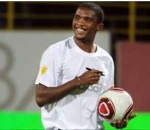 Eto'o charity match in Turkey postponed due to coup