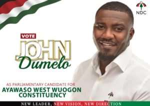 John Dumelo Battle-Ready For Ayawaso West Wuogon 2020
