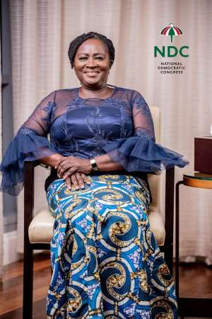 NDC China Congratulates Professor Jane Naana As NDC Running Mate
