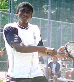 Golden boy Adjei Darko, a star Ghana tennis needs