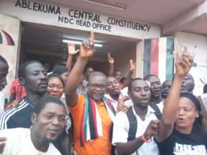 NDC Primaries: Former Presidential Staffer Files For Ablekuma Central Seat