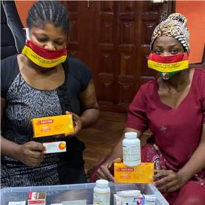 COVID-19: Ghana Rugby Ladies Receive Health Items From Africa Rugby, Others