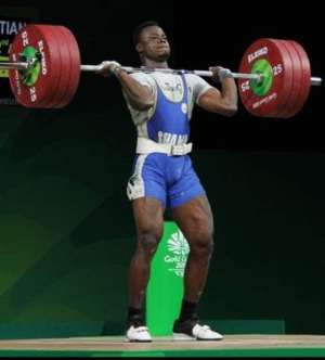Ghana To Lose Top Weightlifter Chris Amoah Due To Low Motivation