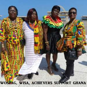 AFCON 2019: WOSPAG And WISA Rally Support For Black Stars