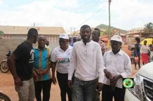 Ga East Mce Inspects Ongoing Limited Voter Registration Exercise