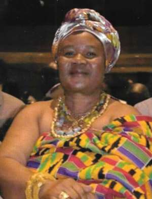 Nana Akua Perbea, Queen-Mother of Mampong Akuapem