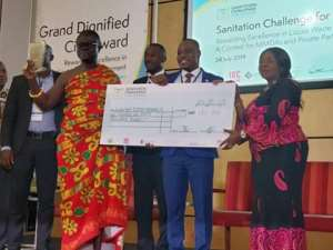 Sanitation Challenge: Kwahu East District Awarded £150,000 For Winning Second Place