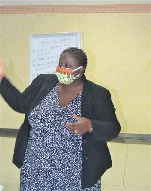 Ms. Deborah Tayo Akakpo Delivering Her Address