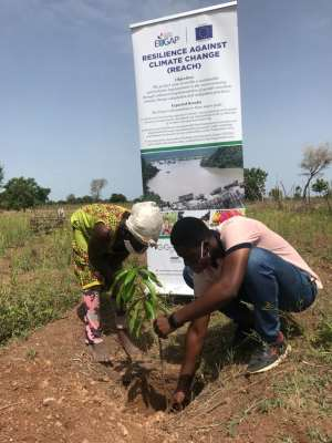EU/German Development Cooperation-REACH Project Plants 22,000 Seedlings