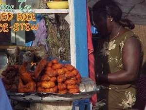 Health officer screens food vendors at Sunyani