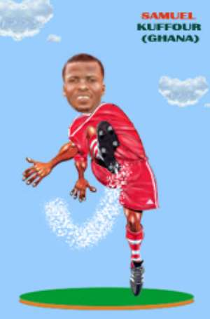 Kuffour  add steel to Bayern back line