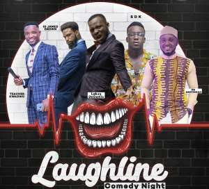 Laughline Comedy Show Bounces Back With The Year Of Return Edition