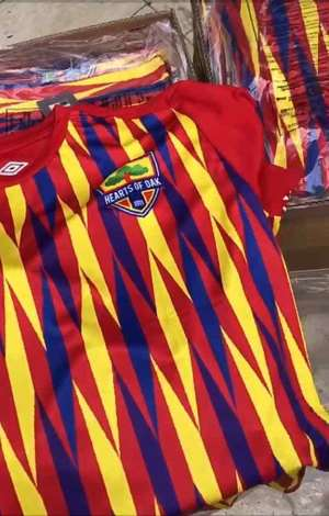 Hearts of Oak Set To Unveil New Umbro Kits [VIDEO]