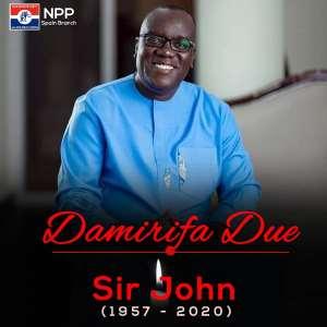 NPP Spain-Branch Mourns 'Sir John'.