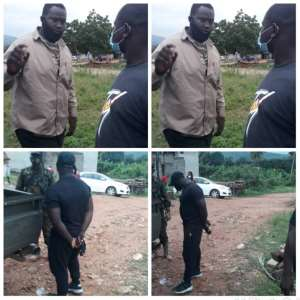 Asuogyaman: One Arrested For Beating NDC Polling Agent Infront Of Soldiers