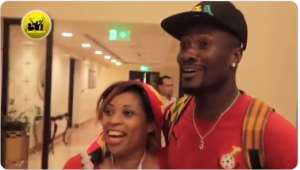 AFCON 2019: Watch Angola Fan Who Only Came To Egypt To See Asamoah Gyan [VIDEO]