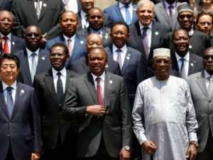 African leaders can't do anything on their own