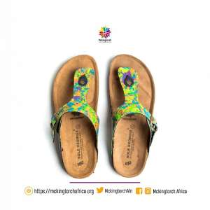 Makafui Awuku's Mckingtorch Africa Launches Leather-made Sandals From Plastic Waste