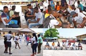 Saint Kizito Youth Organizes Fun Games