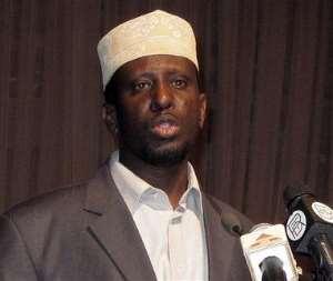 Somalia's new moderate Islamist president sworn in