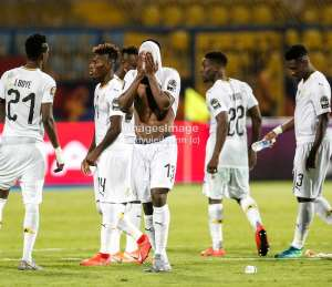 """AFCON 2019: """"I'm Really Sorry""""- Ekuban Apologizes To Ghanaians After Penalty Miss Against Tunisia"""