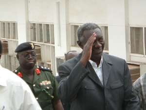 President Kufuor Faces U.S. Court ?