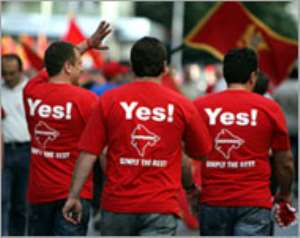 Montenegro proclaims independence