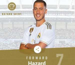 Eden Hazard: Ex- Chelsea Star Given Real Madrid's Iconic No.7 Shirt