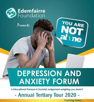 Edem Fairre urges amendment on suicide attempt law for mental illness at the launch of her depression and anxiety forum