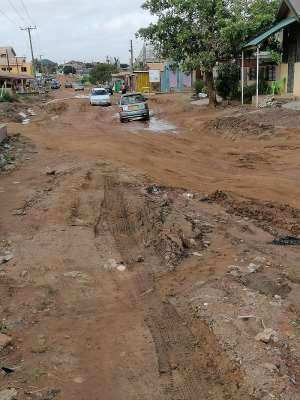 What Did We Do Wrong? Poor Road Condition In Adjei-Kojo And Neighbouring Towns In The Tema West Constituency