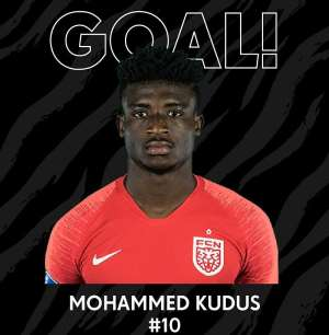 Clinical Mohammed Kudus On Target As FC Nordsjælland Come From Behind To Draw 2-2 With Silkeborg