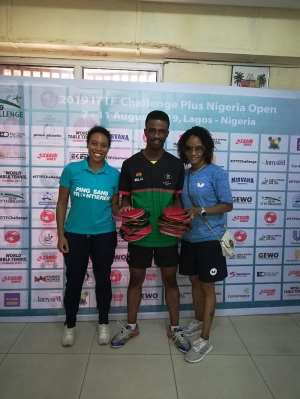 PSF Donates Table Tennis Rubbers To NK & Asoba Foundation