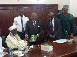 Chief Imam Donates To Parliament