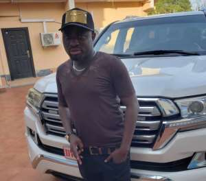 Bro Sammy Buys Land Cruiser From Rev. Obofour