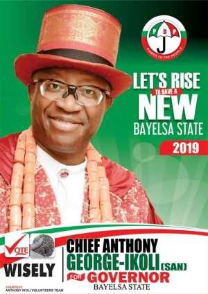 I'm The Next Governor Of Bayelsa State— Says George-Ikoli