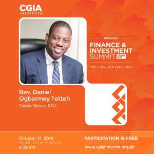 Director-General Of SEC To Address Ghana Finance & Investment Summit